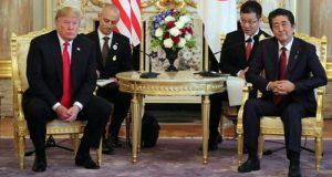 امریکی صدر ٹرمپ کی جاپان کے نئے بادشاہ سے ملاقات
