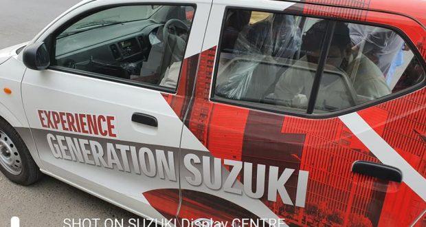 سوزوکی آلٹو کو ٹیسٹ ڈرائیو میں حادثہ، باڈی نازک ترین