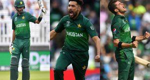 قومی ٹیم کے کھلاڑی رینکنگ میں بہتر پوزیشن پر آگئے