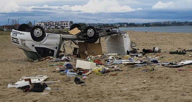 یونان میں طوفان نے تباہی مچادی، 6 سیاح ہلاک