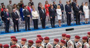 فرانس کا قومی دن ، مختلف تقریبات کا انعقاد