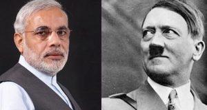 مودی اور ہٹلر میں کیا باتیں مشترک ہیں؟