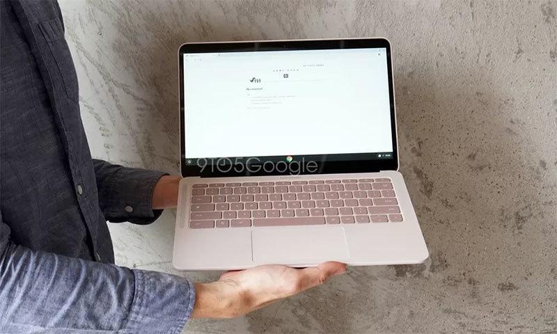 گوگل کا نیا لیپ ٹاپ بھی پکسل 4 کی طرح لیک