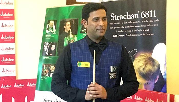 محمد آصف نے محمد سجاد کو ہراکر تیسری رینکنگ اسنوکر چیمپئن شپ جیت لی