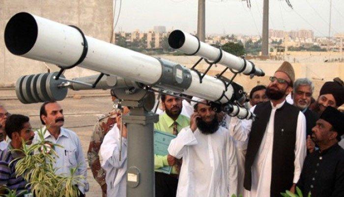 رویت ہلال کمیٹی نے محکمہ موسمیات کو شوال کے چاند کی پیش گوئی سے روک دیا